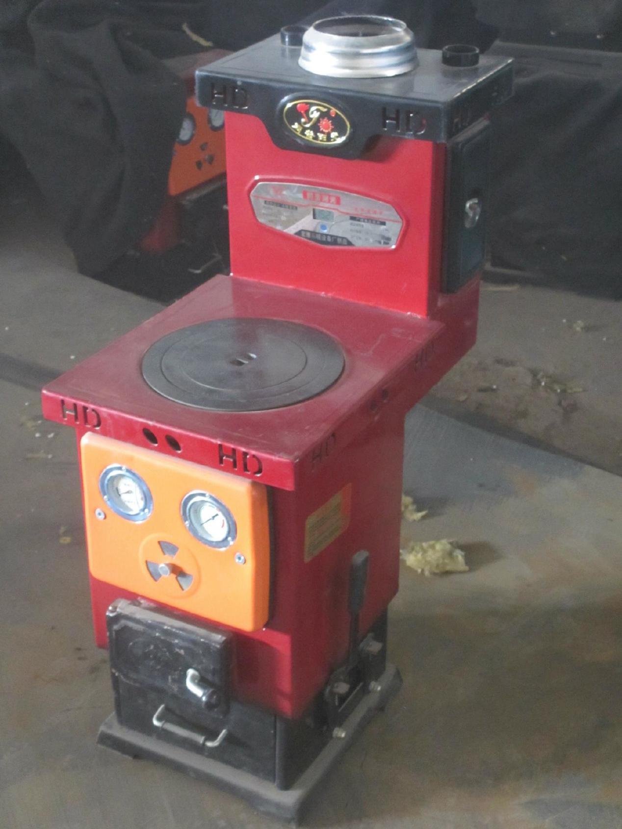 家用取暖.炊事多用节能燃煤采暖炉气化反烧炉节能环保炉   采暖炉图片